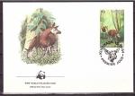 Stamps Democratic Republic of the Congo -  WWF