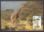 Stamps Kenya -  WWF