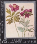 Stamps North Korea -  flores-
