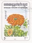 Stamps : Asia : Cambodia :  flores