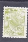 Sellos de Asia - Vietnam -  flora y fauna submarina