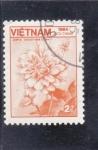 Stamps Vietnam -  flores-dalia