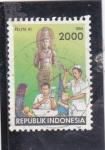 Sellos de Asia - Indonesia -  ,