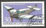 Sellos del Mundo : Europa : Alemania :  1354 - Historia del correo aéreo, Junker FI 3 de 1930