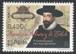 Stamps Europe - Spain -  5002 - V Centº del nacimiento de Francisco Álvarez de Toledo