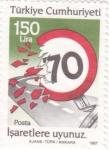 Stamps Turkey -  señal y exceso de velocidad