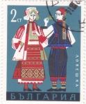 Sellos de Europa - Bulgaria -  trajes regionales