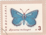 Sellos de Europa - Bulgaria -  mariposa
