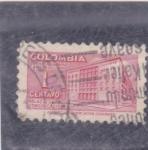 Sellos de America - Colombia -  palacio de comunicacion