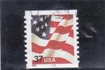 Stamps United States -  bandera estados unidos