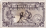 Stamps Spain -  pro huerfanos guardia civil (23)
