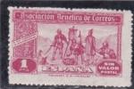 Stamps : Europe : Spain :  asociacion benefica de correos (23)