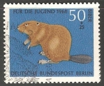 Stamps : Europe : Germany :  417 - Castor
