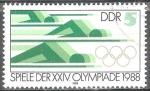 Sellos de Europa - Alemania -  XXIV juegos olímpicos,Seúl 1988 (DDR).