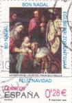 Sellos de Europa - España -  Navidad- adoración de los reyes(23)