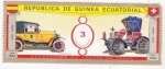 Stamps : Europe : Equatorial_Guinea :  coches de epoca- Hispanosuiza