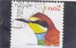 Sellos de Europa - Portugal -  aves- abejaruco