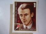 Sellos de Europa - Hungría -  Poeta, Radnóti Miklós 1909-1944