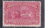 Stamps Costa Rica -  1º congreso postal panamericano