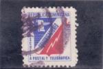Sellos del Mundo : America : Rep_Dominicana :  escudo comunicaciones
