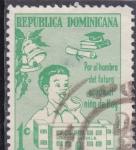 Stamps of the world : Dominican Republic :  proteccion a la infancia