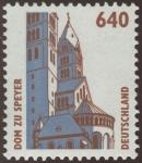 Stamps : Europe : Germany :  ALEMANIA: Catedral de Espira