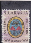 Stamps Nicaragua -  escudo