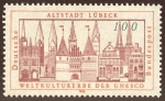 Stamps : Europe : Germany :  ALEMANIA: Ciudad hanseática de Lübeck