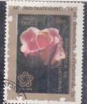 Sellos de Africa - Guinea Ecuatorial -  flores-