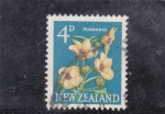 Stamps : Oceania : New_Zealand :  flores-
