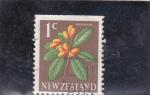 Sellos del Mundo : Oceania : Nueva_Zelanda : flores