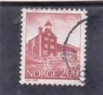 Sellos de Europa - Noruega -  edificio