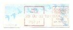 Stamps : Europe : France :  Sello adhesivo de Correos