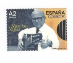 sello : Europa : España : Narciso Yepes (intercambio)