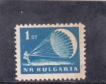 Stamps Bulgaria -  paracaidismo