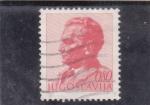 Stamps : Europe : Yugoslavia :  presidente Tito