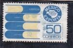 Sellos de America - México -  México exporta-LIBROS