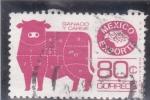 Stamps : America : Mexico :  México exporta- GANADO Y CARNE
