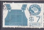 Sellos de America - México -  México exporta- MEZCLILLA