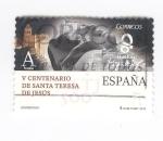 Sellos del Mundo : Europa : España : V Centenario de Santa Teresa de Jesús ( intercambio)