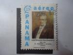 Sellos de America - Panamá -  Centenario del Nacimiento del Dr. Ricardo J. Alfaro 1882-1917- Fundador de la Cruz Roja de Panamá.