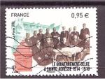 Sellos de Europa - Francia -  recuerdo 1 guerra mundial