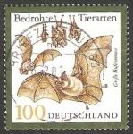 Stamps Germany -  1916 - Animal amenazado de extincion en Alemania, murcielagos