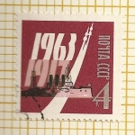 Stamps Russia -  Aniversario naval