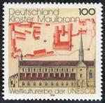 Sellos de Europa - Alemania -  ALEMANIA - Monasterio de Maulbronn