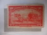 Stamps Panama -  Carro de Caña.