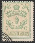 Stamps Europe - Spain -  25 - (Ivert) Caja Postal de Ahorros