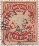 Sellos de Europa - Alemania -  Baviera Y & T Nº 41