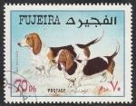 Stamps United Arab Emirates -  Perro de raza
