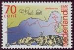 Stamps Netherlands -  AUSTRALIA - Reserva natural de Tasmania